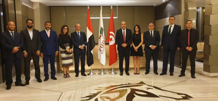 Visit of Hatem Ferjani, Secretary of State to the Minister of Foreign Affairs in charge of Economic Diplomacy